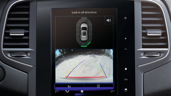 Renault KOLEOS - Rearview camera